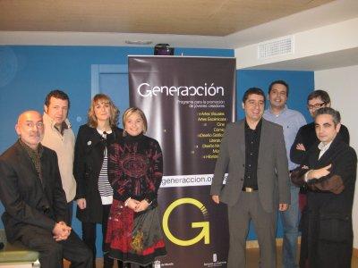 Autoridades y jurado experto de Generacción