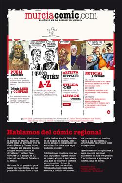 murciacomic.com en el stand de EL REMANGAZÍN