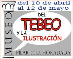 Cartel Exposición en Museo del Tebeo