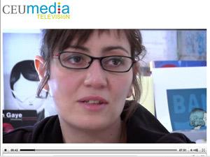 Ana Galvañ en Punto de Encuentro. CEU Media