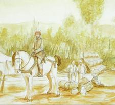 Ilustración de Juan Navarro para el Museo Santa Clara. Clic para ver galería de imágenes
